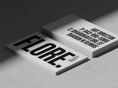 Premium white business card mockups 3d rendering paper business card design