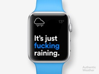 Authentic Weather on AppleWatch