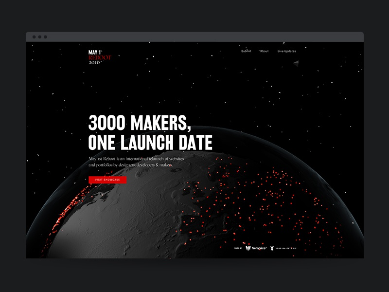 May1Reboot - It's launched!