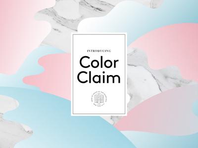 Color Inspiration - Color Claim