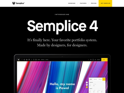 Semplice 4 is finally live!