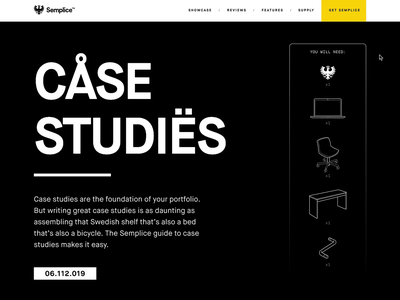 A case study on how to build a case study