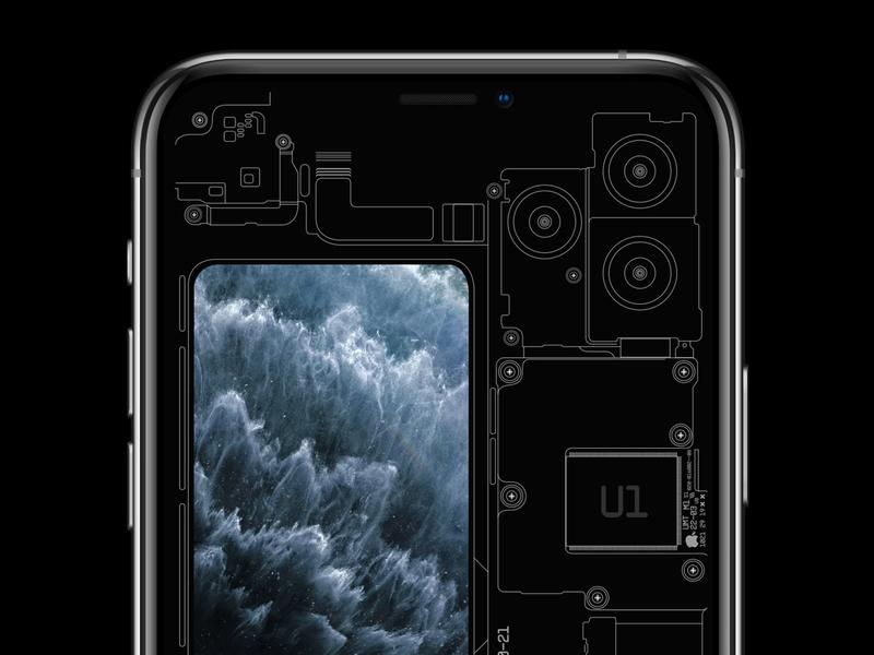 """iPhone 11 """"TSA"""" Wallpaper"""