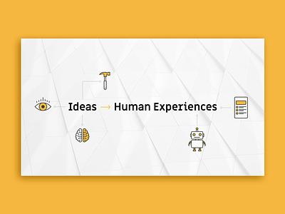 Ideas > Human Experiences