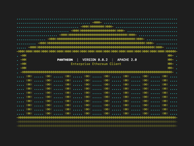 Pantheon ASCII Art command-line cli text ascii