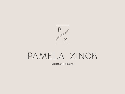 Pamela Zinck Logo logo design illustration branding