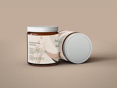 Smidge + Smidgen Packaging label design label packaging home product body products label print packaging design illustration branding