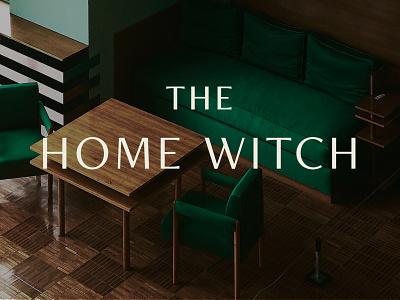 The Home Witch - Brand magic organization brand identity brand design logo illustration branding