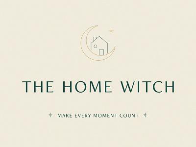 The Home Witch - Brand Details magic feng shui organization logo design logo design illustration branding