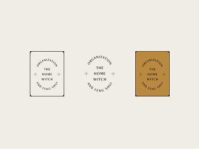 The Home Witch - Cards tarot card tarot magic organization feng shui icon logo submark illustration branding
