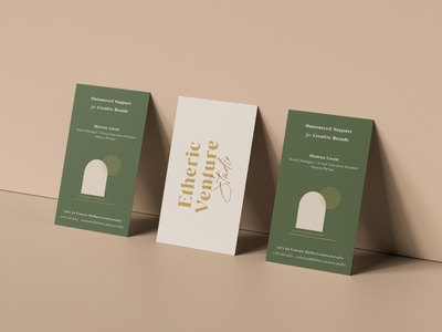 Etheric Venture Studio - Business Cards