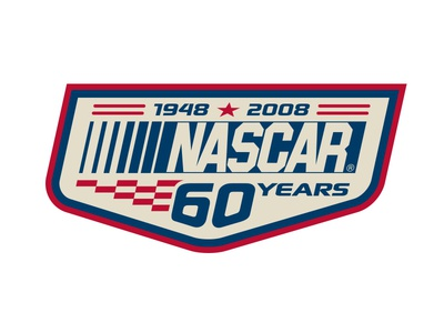 Nascar 60th Anniversary identity brand