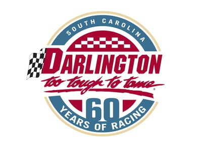 Darlington Raceway 60 Years identity brand