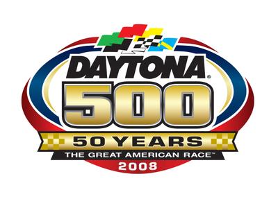 2008 Daytona 500 identity brand