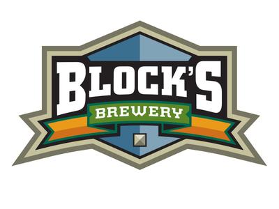 Blocks Brewery identity brand