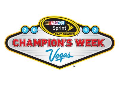 Nascar Champions Week identity brand