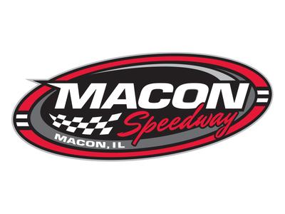 Macon Speedway - Macon, Illinois identity brand