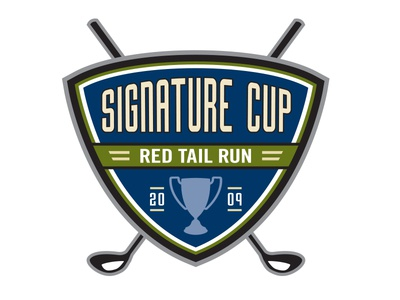 Signature Cup Golf Tournament identity brand