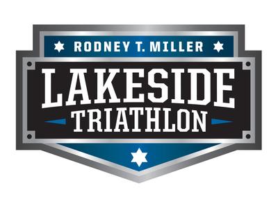 Rodney T. Miller Lakeside Triathlon identity brand