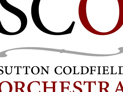 Orchestra logotype small caps orchestra music logotype type minion pro
