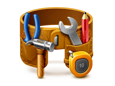 Tool belt for Swipely softfacade icons icon identity
