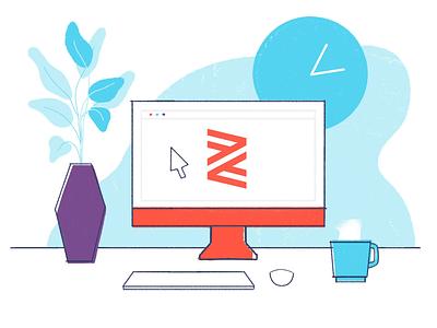 Zenefits Illustrations web animated vector design identity branding animation icons icon illustration