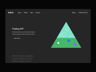API Animated Illustrations web site branding illustration web website design webdesign web design website