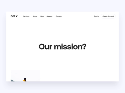 DSX About Page minimalistic minimal typographic animation fintech crypto exchange responsive web design responsive design responsive motion website concept website design webdesign web design website web