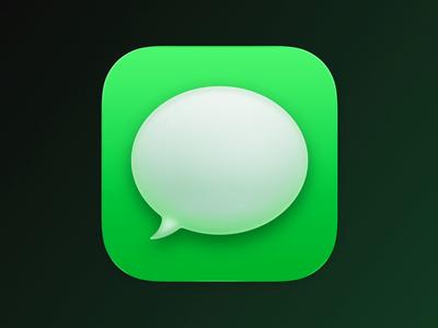 Messages macOS Big Sur icon icon design iconography icon set mac apple big sur bigsur macos icon macos animation icon icons