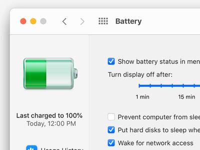 Battery macOS Big Sur icon mac app mac os illustration interface ui app bigsur big sur macosbigsur macos icon macos mac icon designer icon design iconography icon set icons icon
