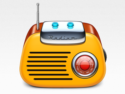 Radium is live with our icon softfacade icon icons ui identity