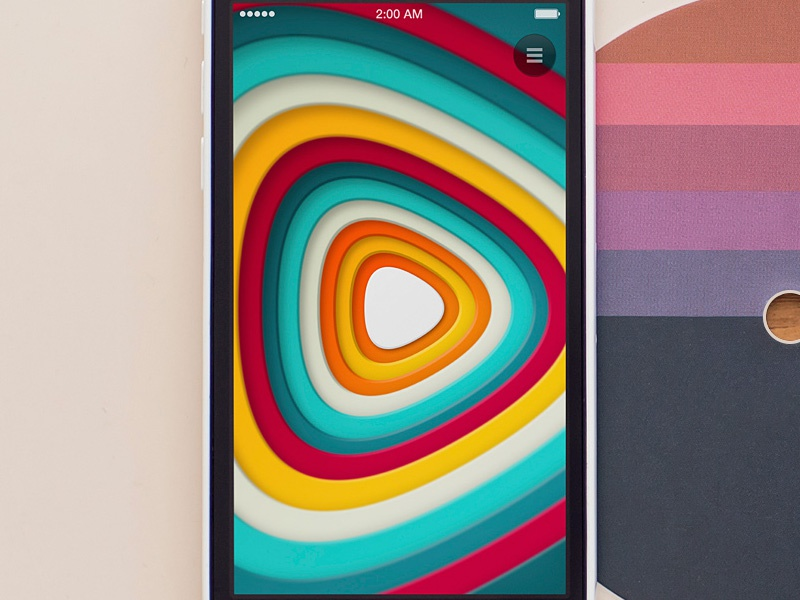 Gsound iPhone app iphone app ui ux design sfcd interface