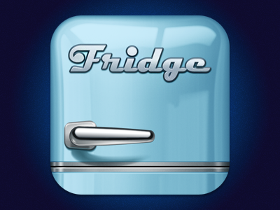 Fridge iPhone logo/icon softfacade icon icons logo identity