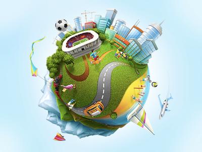 Lifekraze illustration softfacade icon icons illustration