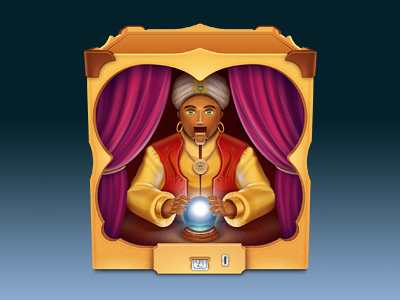 Soothsayer app icon softfacade icon icons logo identity app mac
