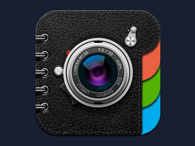 Lens.ly app icon softfacade icon icons logo identity