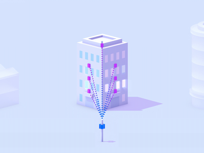 Building Types for Terragraph branding illustration website animation animation ux ui icons interface