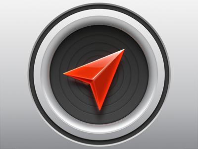 Localscope icon v2 softfacade icon icons logo identity ios iphone app location