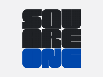 Square One Logo Concept!