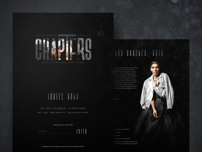 Chapters Website