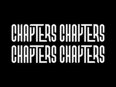 CHAPTERS Logo Options