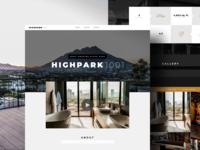 HighPark1001 Real Estate Website Design