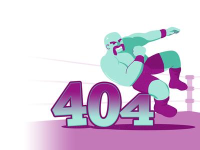 Elbow Drop – 404 Page
