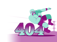 Elbow Drop – 404 Page