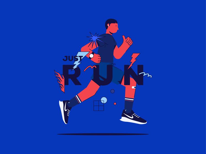 Just Run! Keep moving forwwward
