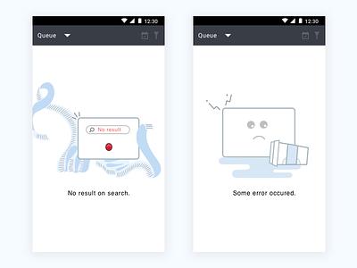 Empty Screens fail oops serach result search error screens posts empty screen