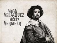 Velasquez meets Vermeer