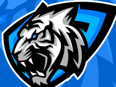 White Tiger Esport Logo By Enggar Setiawan Dribbble