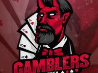 Devil Gamblers mascot logo