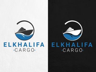 ELKHALIFA CARGO LOGO DESIGN